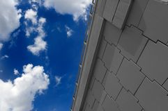 небо хайвея Стоковое Изображение RF