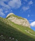 небо холма вниз Стоковые Изображения RF