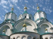 небо церков Стоковые Фото