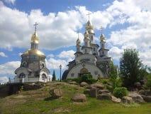 небо церков Стоковая Фотография