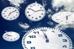 небо часов Стоковые Фото