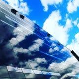 Небо черного алмаза Стоковые Фото