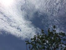 Небо Шанхая Стоковая Фотография