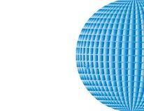 Небо шарика диско вектора голубое иллюстрация штока
