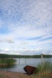 небо шлюпки Стоковое Изображение