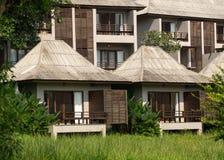 Небольшие дома в гостинице в Pai Стоковые Фото