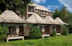 Небольшие дома в гостинице в Pai Стоковые Изображения RF