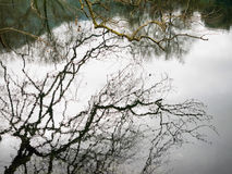 Небольшое озеро в Греции Стоковое фото RF