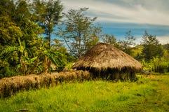 Небольшой дом в Trikora Стоковые Изображения