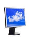 небо экрана компьютера Стоковая Фотография RF