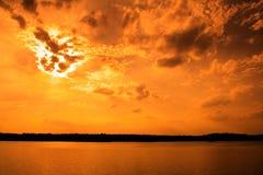 небо дня страшного суда Стоковые Изображения