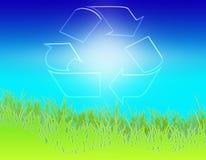 небо 01 gras экологичности иллюстрация вектора