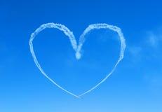 небо 2 сердец Стоковая Фотография