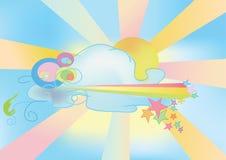 небо иллюстрация вектора
