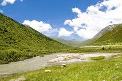 небо 5 гор вниз Стоковые Фото