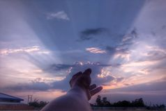Небо стоковая фотография rf