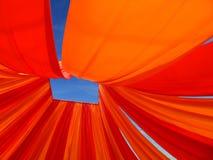 небо baldachin голубое вниз Стоковые Фото