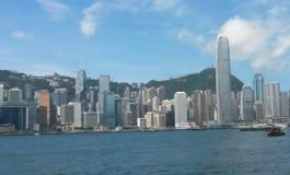 Небо buildings1 Гонконга Стоковые Изображения RF