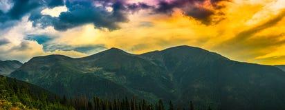 Небо Coloreful Стоковое фото RF