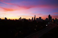 небо colorfull Стоковые Изображения