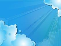 небо comix Стоковая Фотография RF