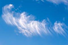 небо feathers5 стоковое изображение rf