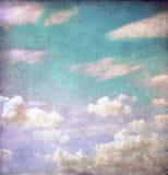 небо grunge предпосылки пасмурное Стоковые Фотографии RF