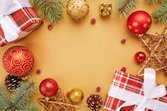 небо klaus santa заморозка рождества карточки мешка рождество украшает идеи украшения свежие домашние к звезды абстрактной картин Стоковая Фотография RF