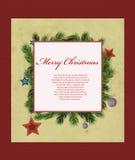 небо klaus santa заморозка рождества карточки мешка Стоковое фото RF