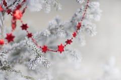 небо klaus santa заморозка рождества карточки мешка Стоковые Фотографии RF