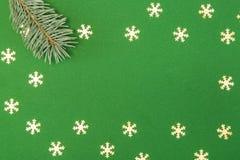 небо klaus santa заморозка рождества карточки мешка Стоковая Фотография RF