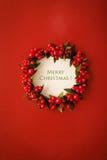 небо klaus santa заморозка рождества карточки мешка Стоковое Фото