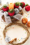 небо klaus santa заморозка рождества карточки мешка Стоковые Изображения