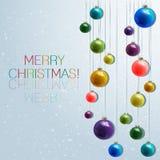 небо klaus santa заморозка рождества карточки мешка invitation new year Стоковое Фото