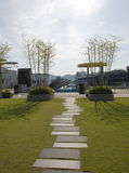 небо kyoto сада Стоковое Изображение