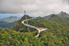 небо langkawi моста Стоковое Изображение RF