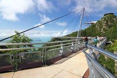 небо langkawi 04 мостов Стоковое фото RF