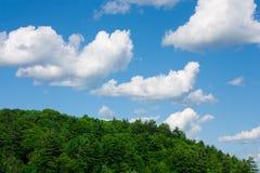 небо muskoka облака Стоковые Фотографии RF