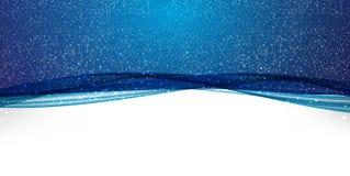 Небо Naturalistic ночи звёздное Фантастичный взгляд также вектор иллюстрации притяжки corel Стоковые Фото