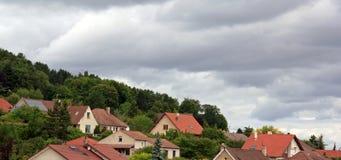 небо overcast Стоковые Изображения