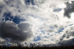 небо overcast Стоковые Изображения RF