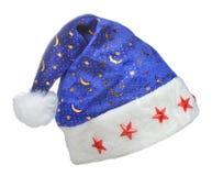 небо santa орнамента ночи шлема Стоковые Изображения RF