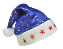 небо santa орнамента ночи шлема Стоковое фото RF