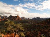 небо sedona scape Аризоны Стоковое фото RF
