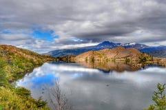 Небо Torres del Paine Стоковые Изображения RF