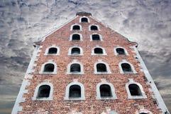 небо torun темной готской дома старое Стоковые Фотографии RF