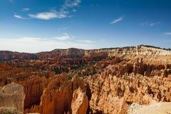 Небо Viewwith долины голубое Стоковое Фото