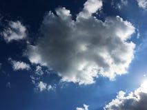 Неб-солнц-облака Стоковые Изображения
