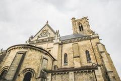 Невер, Бургундия, Франция стоковое фото rf