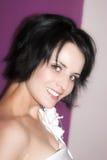 Невеста брюнет Стоковая Фотография RF